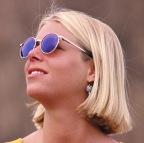 mujer sol lentes de sol