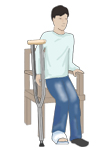 How To Use Crutches_2_sit