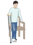 How To Use Crutches_1_sit