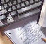 self employed business keyboard