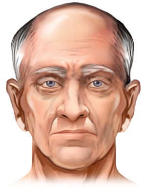 Elderly Male Face